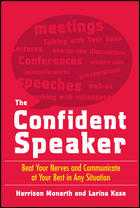 THE CONFIDENT SPEAKER