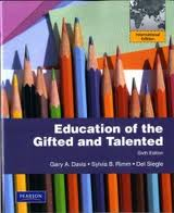EDUCATION OF THE GIFTED & TALENTED e6