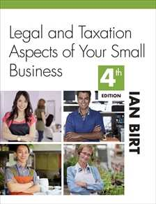 LEGAL & TAX ASPECTS OF SMALL BUSINESS e4