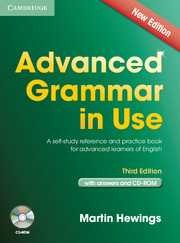 ADVANCED GRAMMAR IN USE + CD e3