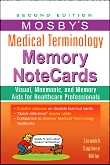 MOSBY'S MEDICAL TERMINOLOGY MEMORY CARDS e2