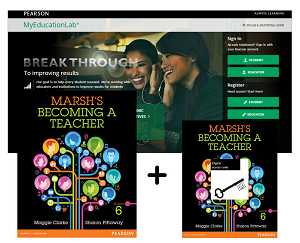 VP MARSH'S BECOMING A TEACHER + MYEDUCATIONLAB WITH ETEXT e6