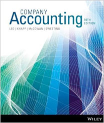 COMPANY ACCOUNTING e10 BINDER + WILEY CARD