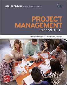 PROJECT MANAGEMENT IN PRACTICE CERT IV AND DIPLOMA e2
