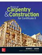 BASICS OF CARPENTRY AND CONSTRUCTION FOR CERTIFICATE II