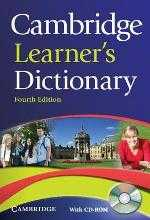 CAMBRIDGE LEARNER'S DICTIONARY e4 + CD-ROM